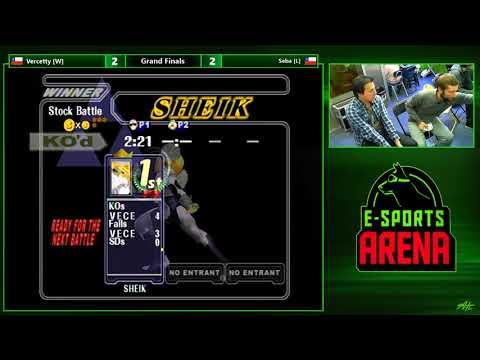 PHD #2 SSBM - Vercetty (C. Facon) vs. Seba (Sheik) - Grand Finals