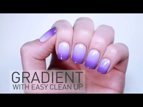 Gradient Nails with Kiesque Liquid Palisade 漸變指甲教學
