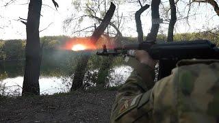 Один день с ополченцами Донбасса. Киевский район, Путиловка. 28.04.15.