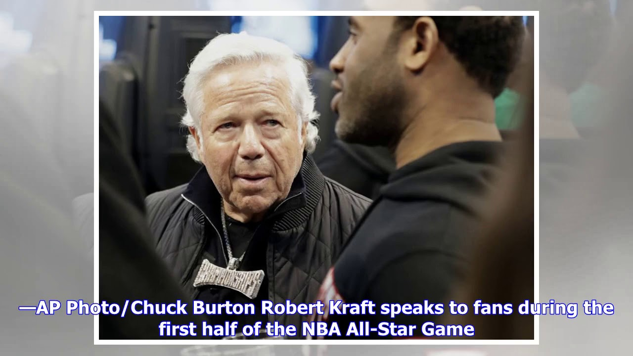 Robert Kraft hung out at the 2019 NBA All-Star Game