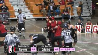 WFTDA Roller Derby: 2014 D1 Playoffs, Charleston - Columbia v Naptown