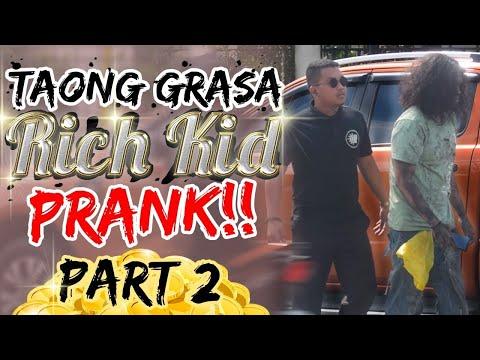"""Taong Grasa (Homeless) / Rich Kid"" PRANK PART 2"