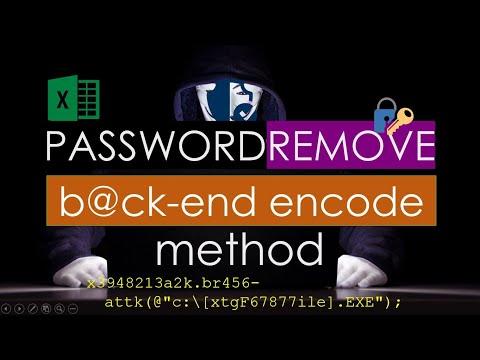 change password excel 2007