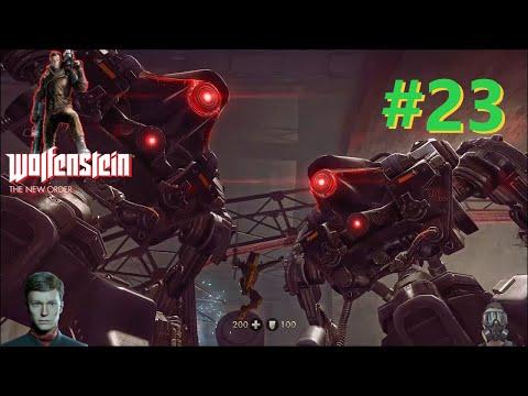 Wolfenstein The New Order Gameplay - Under Attack #23 |