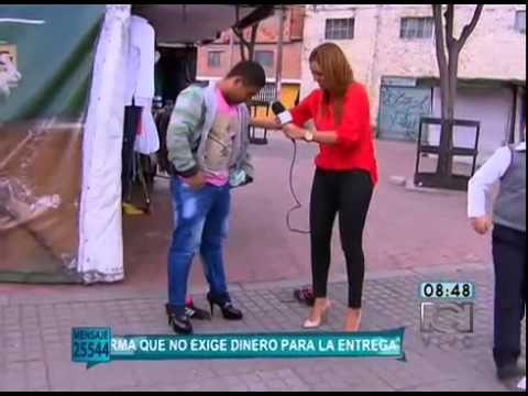 TATIANA FRANCO PUSO A LOS HOMBRES A CAMINAR EN TACONES