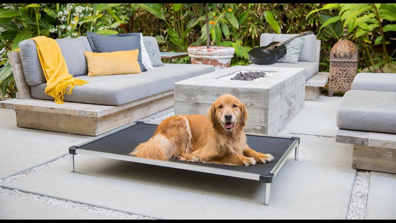 K9 Ballistic Chew Proof Elevated Dog Bed Youtube