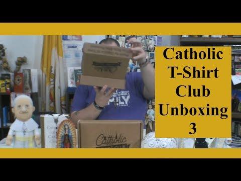 Catholic T-Shirt Club Unboxing 3