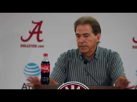 Nick Saban talks Ole Miss game - Full Press Conference