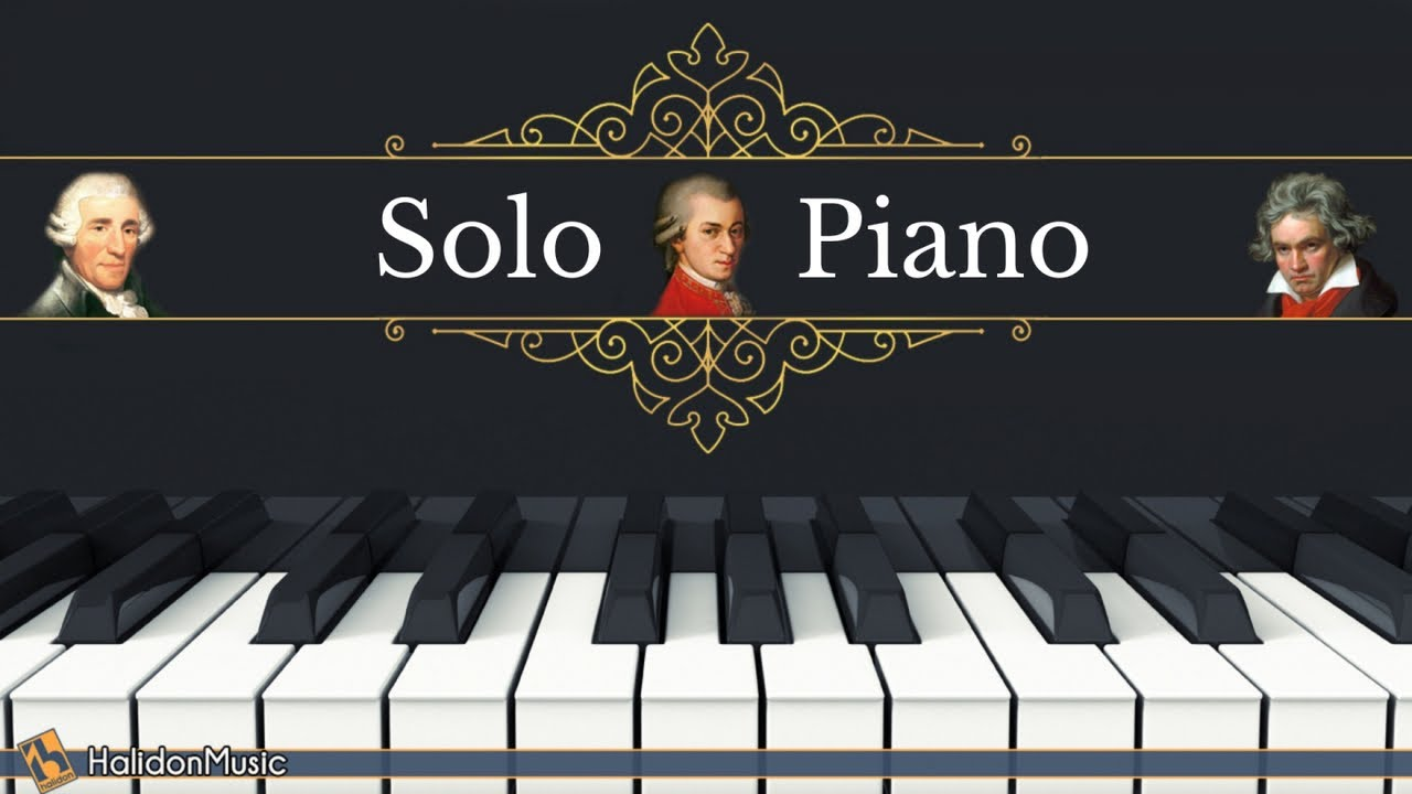 Classical Piano Masterpieces Mozart Beethoven Haydn Youtube
