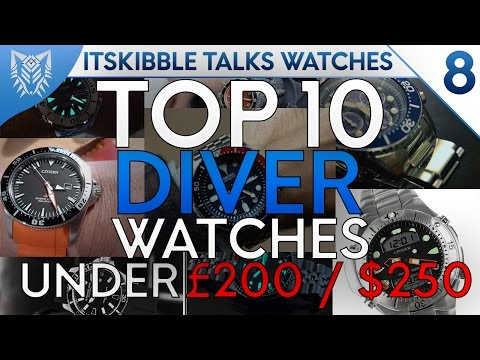 #IKTW | TOP 10 Diving Watches (Under £200/$250) | Episode 8