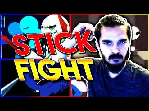 Eğlenceli ve Basit Oyun - Stick Fight  - Ez Kafasını Ez