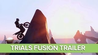 Trials Fusion Gameplay Trailer - Xbox One, Xbox 360, PS4, PC - 1080p
