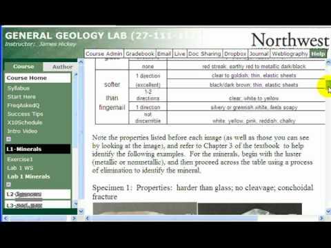 General Geology Online Lab