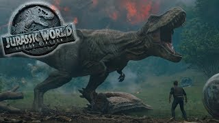 REXY slays CARNOTAURUS || Jurassic World Fallen Kingdom REACTION