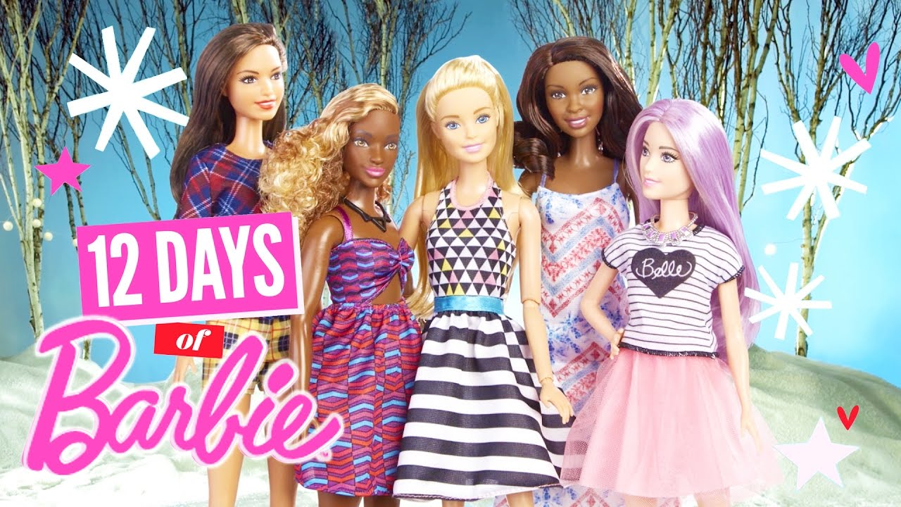 gift ideas 12 days of christmas with barbie barbie youtube