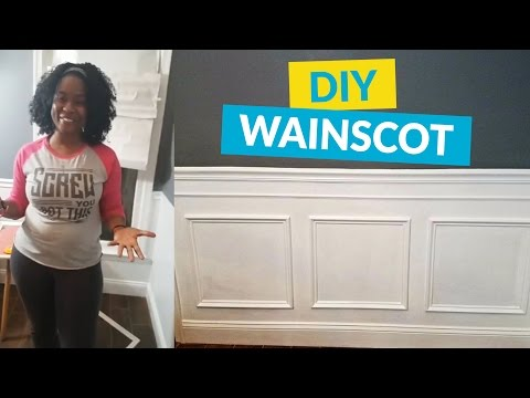 Dress Up Your Walls With Wainscoting/Picture Frame Molding<a href='/yt-w/xde15m6Wlc0/dress-up-your-walls-with-wainscotingpicture-frame-molding.html' target='_blank' title='Play' onclick='reloadPage();'>   <span class='button' style='color: #fff'> Watch Video</a></span>