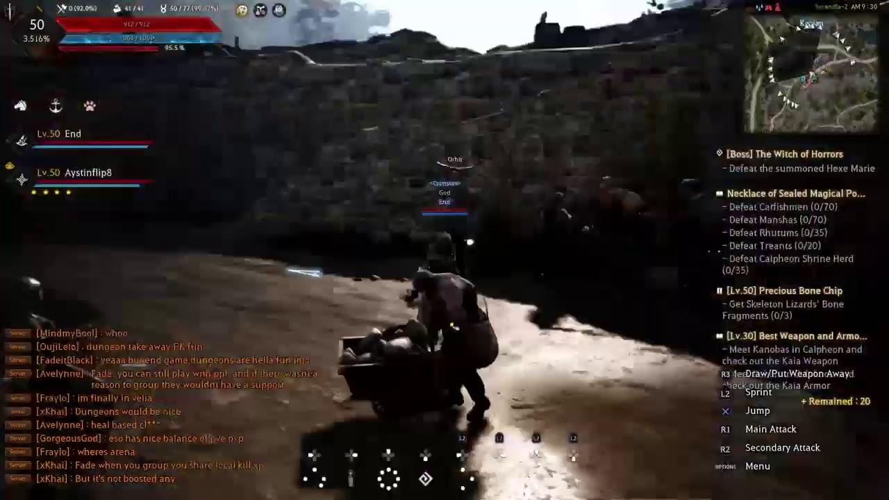Crimson Desert Online Vs Black Desert Online