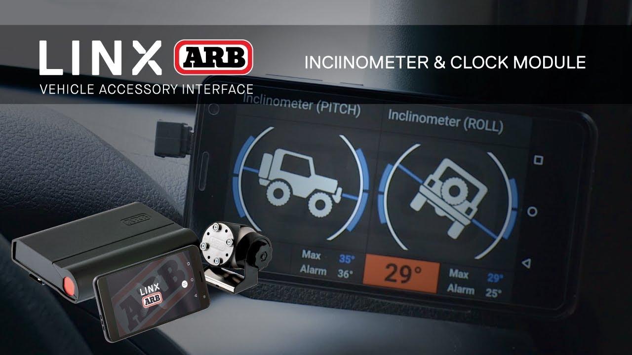 ARB LINX | Inclinometer & Clock (FREE update)