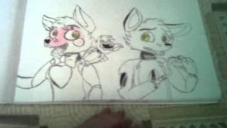 Мои рисунки 5 ночей с Фредди 3