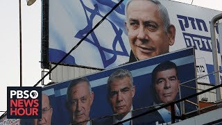 Israelis prepare for 2nd election as Netanyahu faces corruption charges