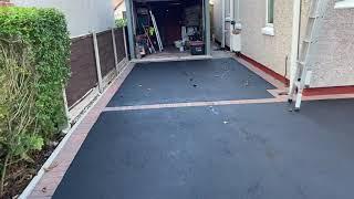 Tarmac Driveway restoration