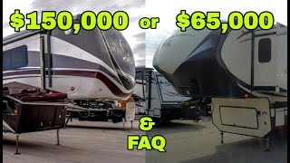 Why a $65,000 not a $150,000 Fifth Wheel!