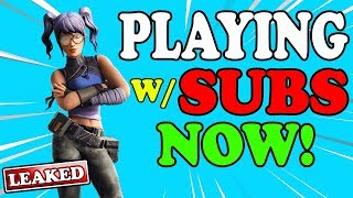 TOP CONSOLE PLAYER (W/ SUBS!) // 3200+ WINS // FORTNITE BATTLE ROYALE #SeasonX