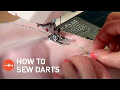 Sewing Darts | Couture Sewing Techniques Tutorial with Aliso
