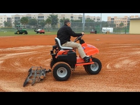 Field Conditioner Conditioning A Ball Field Infield Youtube
