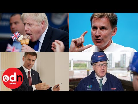 Best moments from Boris Johnson and Jeremy Hunt's Conservative leadership race