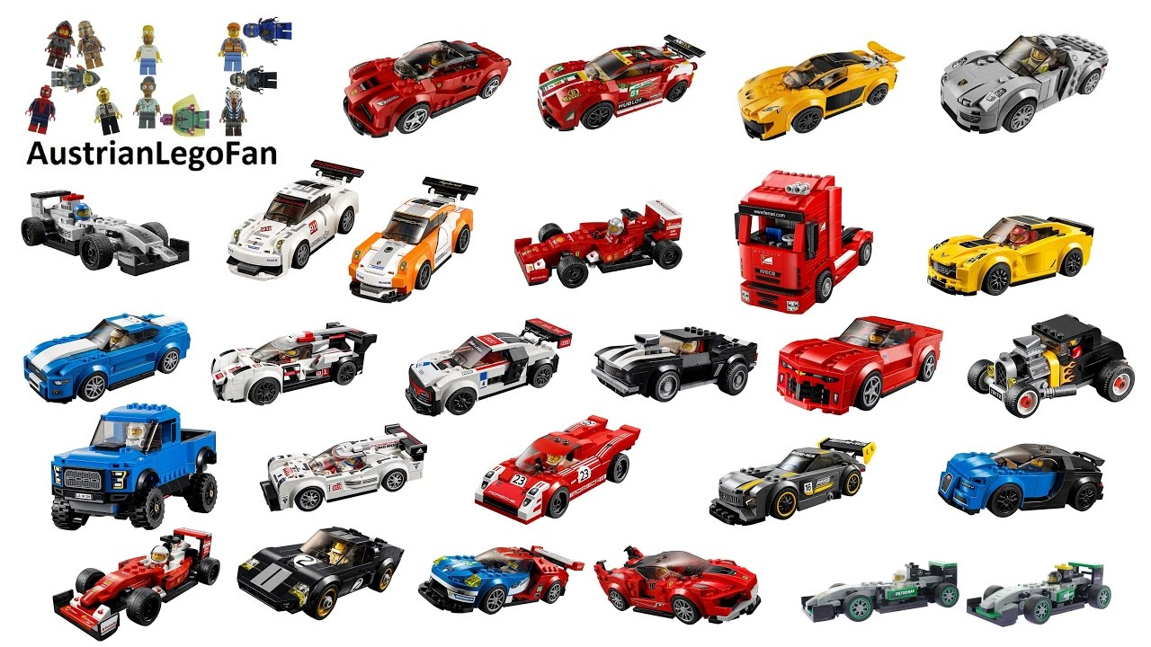 All Lego Speed Champions Cars ever made - Lego Speed Build ...
