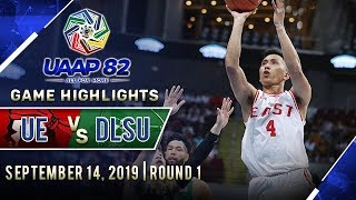 UE vs. DLSU - September 14, 2019  | Game Highlights | UAAP 82 MB