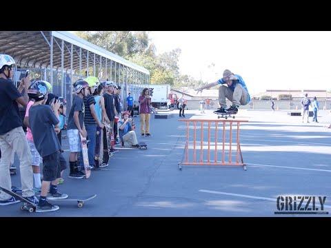 Torey Pudwill visits Church Zion Skatepark