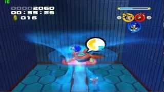 Sonic Heroes - Team Sonic -  Stage 03 Grand Metropolis