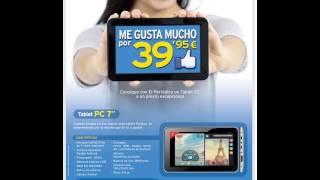 """Tablet Prixton 7"""" con El Periódico"""