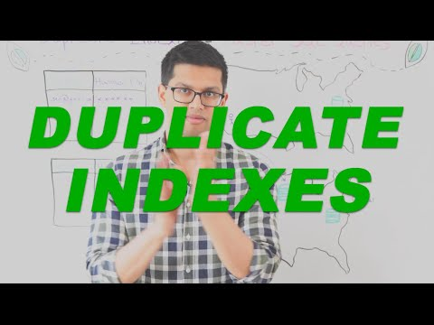 How to improve application performance using Duplicate Indexes