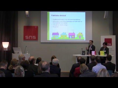 Utmaningar för en svensk skola i världsklass, dag 1, förmiddag