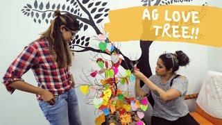 💕AG LOVE TREE 🌲AG VLOGS Epi 37 | Amritha Suresh | Abhirami Suresh