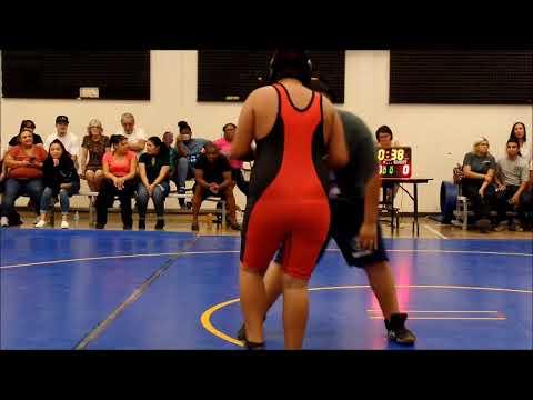 Thomas 2nd wrestling game full video BJHS VS RANCHERO MIDDLE SCHOOL 9/26/2018