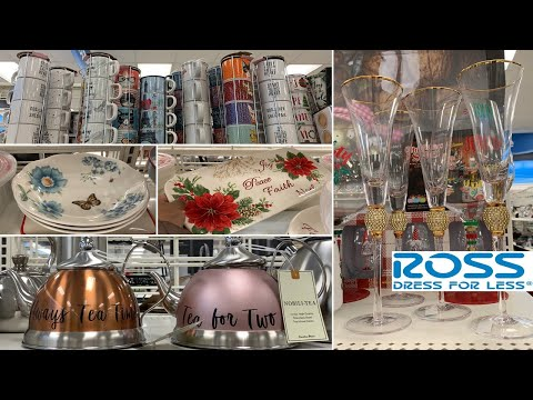 ROSS Kitchen Home Decor | Dinnerware Table Decoration Ideas | Shop With Me 2019