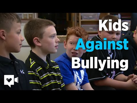 Boys' reaction to bullying will melt your heart