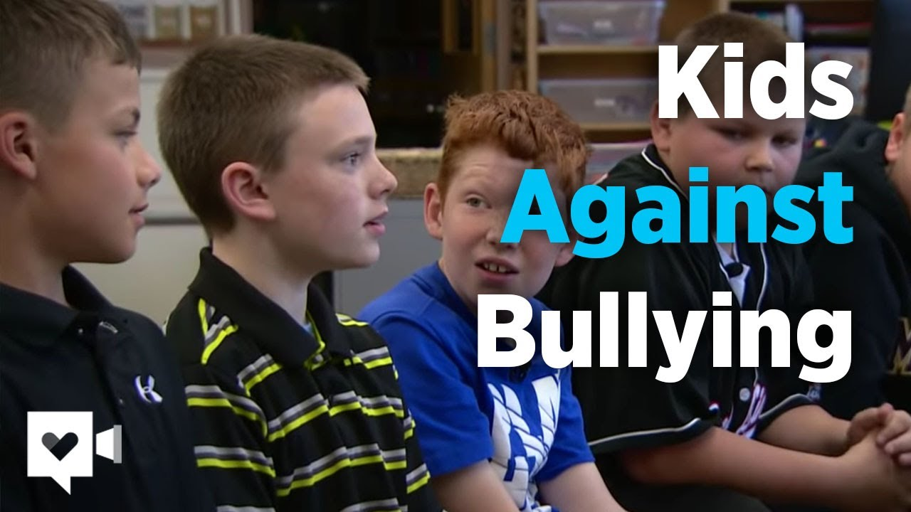 Boys Reaction To Bullying Will Melt Your Heart Youtube