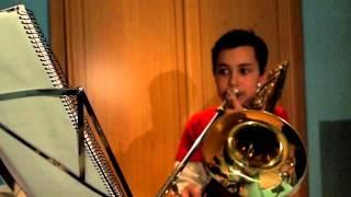 Al Lado De Mi Cabaña - Trombon - Trad. de León