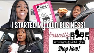 I STARTED MY ONLINE BOUTIQUE! | LIFE OF AN ENTREPRENEUR