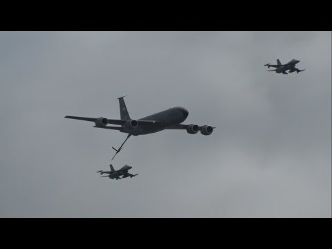 2018 Atlantic City Airshow - Military Aircraft Flybys