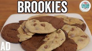 BROOKIES (BROWNIE COOKIES!) RECIPE | EMOTION COOKBOOK #6 COMFORT #ad