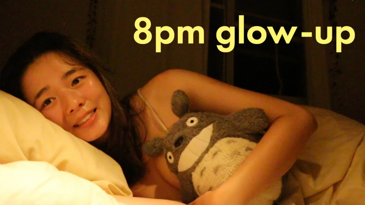 RATING 8PM BEDTIME ROUTINES (aka fixing my sleep schedule) productive to zen vibes✨ 5 DAY GLOW-UP