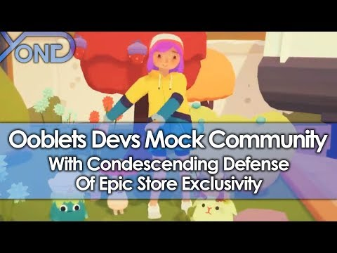 Ooblets Devs Mock Community With Condescending Defense Of Epic Store Exclusivity