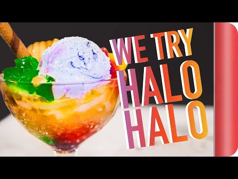 Brits Try Halo Halo For The First Time!!