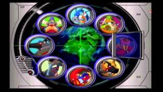 Mega Man X7 - Stage Select